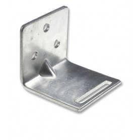 Medium Slotted Galvanised Wall Bracket