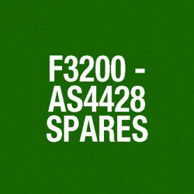 F3200 MX4428 4U MEMBRANE OVERLAY ONLY FA2150