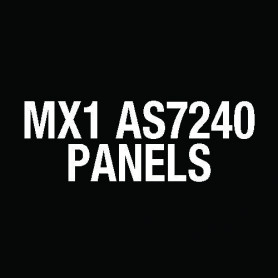 MX1 Aust 8U Panel 3U blank (fit brigade kit separately) FP1040