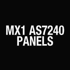 MX1 Aust 15U Panel C/W 2 MX loops, 3U CENTAUR ASE FP1150