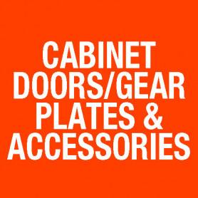8U 310 Deep Empty Cabinet Blank Door ME0432