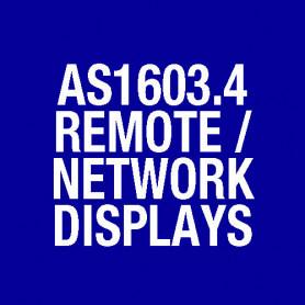Remote LCD Display Unit, Slimline, Flush Mounting FP0772