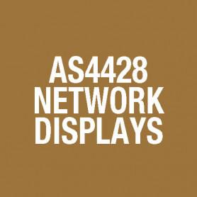 """NDU AS4428 Network Display, 4U 19"""" Rack Module FP0794"""