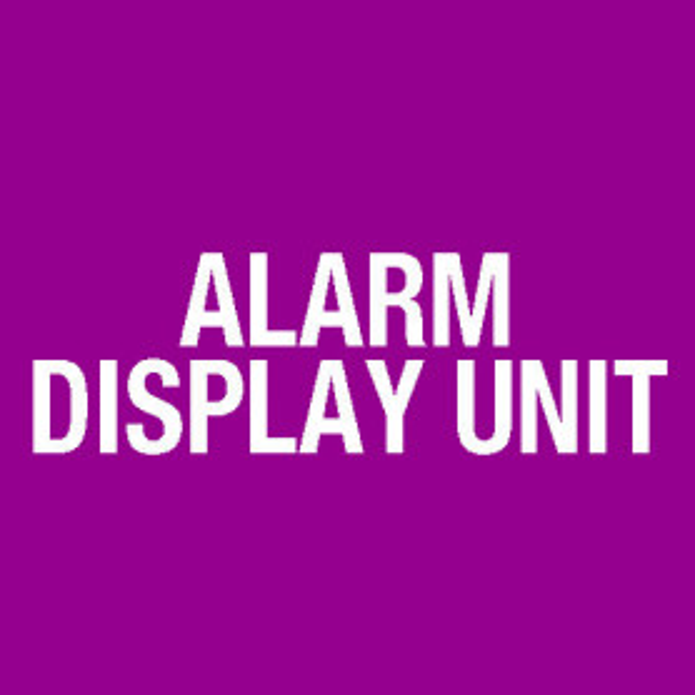 Alarm Display Unit, Surface Mtd, Nurses Station FP0881