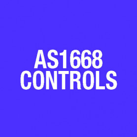 LABEL 1945-4 AS1668 FRONT PANEL CONTROL LB0376