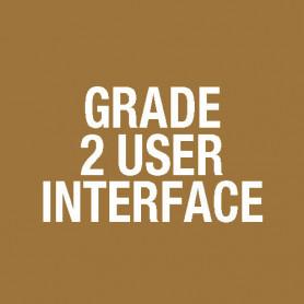 FP, grade2 16 zone EWS extender 3U door BLACK FP1127