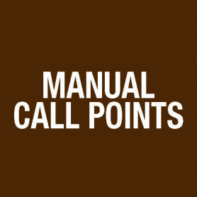 KAC Manual Call Point Plastic Insert Element 515.001.127