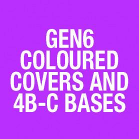 850 Cover & 4B-C Red 186C Matt (pk of 10) 517.050.505