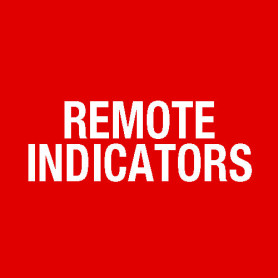 Round Remote Indicator 75mm - FIRE ALARM IN CONCEALED SPACE E521