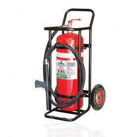 FLAMESTOP 50KG ABE Mobile Extinguisher - Pnumeratic Wheel