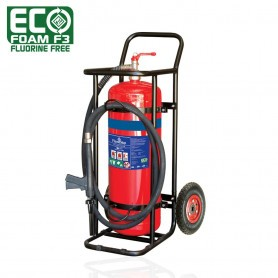 FLAMESTOP 50L ECO Foam F3 Fluorine Free Mobile Extinguisher - Pneumatic Wheel