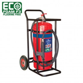 FLAMESTOP 70L ECO Foam F3 Fluorine Free Mobile Extinguisher - Pneumatic Wheel