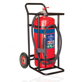 FLAMESTOP 90 LITRE AFFF Mobile Extinguisher - Pneumatic Wheel