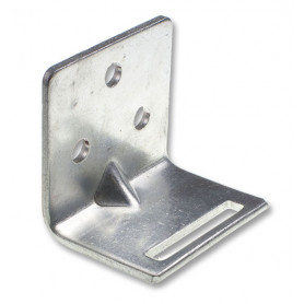 Small Slotted Galvanised Wall Bracket