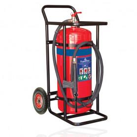 FLAMESTOP 70 LITRE Alcohol Resistant Mobile Extinguisher - Pneumatic Wheel