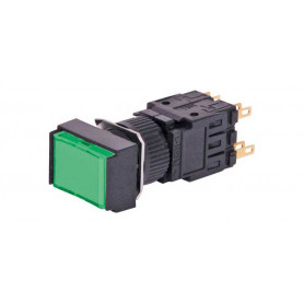 24VDC Push Switch - Green