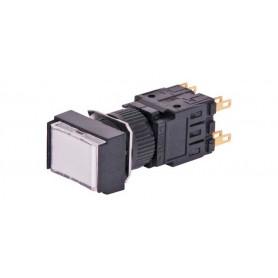 24VDC Push Switch - White