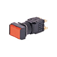 24VDC Push Switch - Red