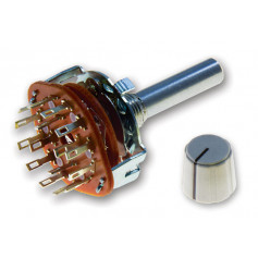 4 Pole 3 Position Rotary Wafer Switch