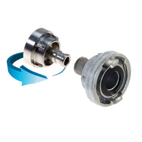 Storz Alloy Fitting 25mm - 19mm Tail