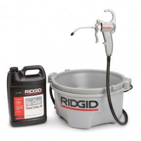 Ridgid 418 Oiler and Bucket Set
