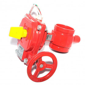 150Nb R/G Butterfly Valve c/w Monitor