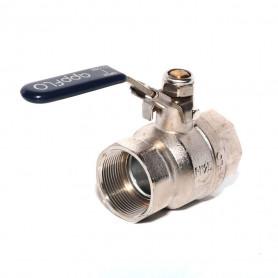 40Nb Lockable Brass Ball Valve