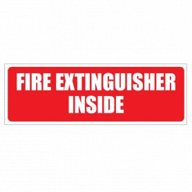 Fire Extinguisher Inside (Text)