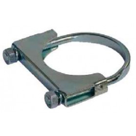2-1/8 Inch (54mm) Exhaust Clamp (Zinc Plated)