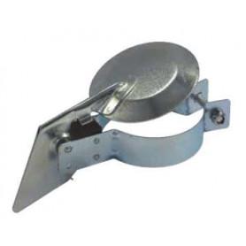 2-1/2 Inch (63mm) Silent Raincap - Zinc Plated