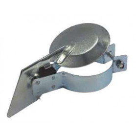5 Inch (127mm) Silent Raincap - Zinc Plated