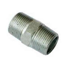 40Nb Gal Steel Hex Nipple