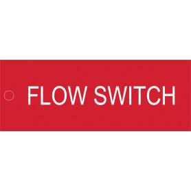 Flow Switch - Traffolyte Label 80mm x 30mm