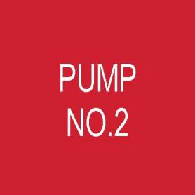 Pump No 2- Traffolyte Label 50mm x 50mm
