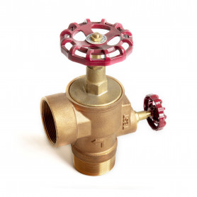 50mm x 15mm Waste & Test Drain Valve - Spindle Type