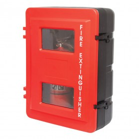 Plastic Twin Fire Extinguisher Cabinet