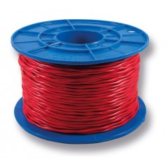 TWISTED Red Twin Fire Cable - 1.0mm - 200m Roll