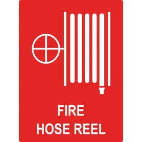 Fire Hose Reel Location - Medium Sign - 225 x 300mm