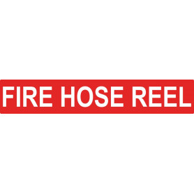 Fire Hose Reel - Strip Sign - 500 x 100mm