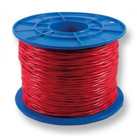 TWISTED Red Twin Fire Cable - 1.5mm - 200m Roll