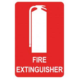 Extinguisher Location - Vinyl Sticker - 150 x 225mm
