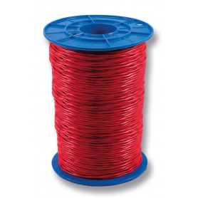 TWISTED Red Twin Fire Cable - 1.5mm - 500m Roll