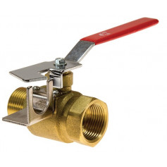 Universal Fire Hose Reel Stop Valve - Male/Female - 25mm