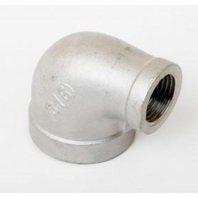 25Nb x 15Nb Stainless Steel 316 90° Reducing Elbow