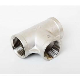 25Nb Stainless Steel 316 Tee