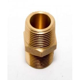 15Nb Brass Hex Nipple Restricted Orifice