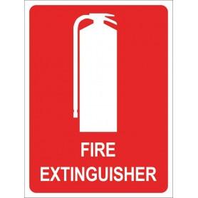 Extinguisher Location - Medium Sign - 225 x 300mm