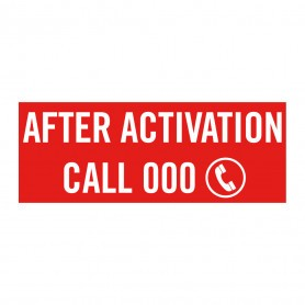 Sign for MCP - After Activation Call 000