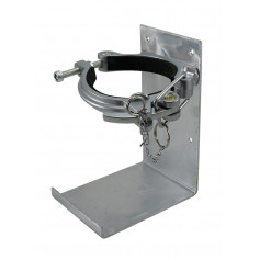 Fire Extinguisher Vehicle Bracket - Cannon Style - 4.5KG - Galvanised