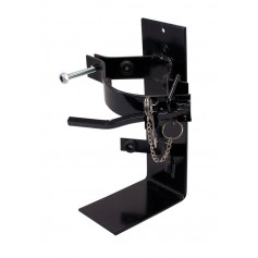 2.5kg HEAVY DUTY - Black Powder Coated Bracket